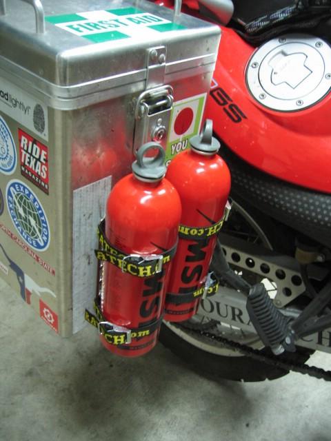 Msr Bottle Rack Installation